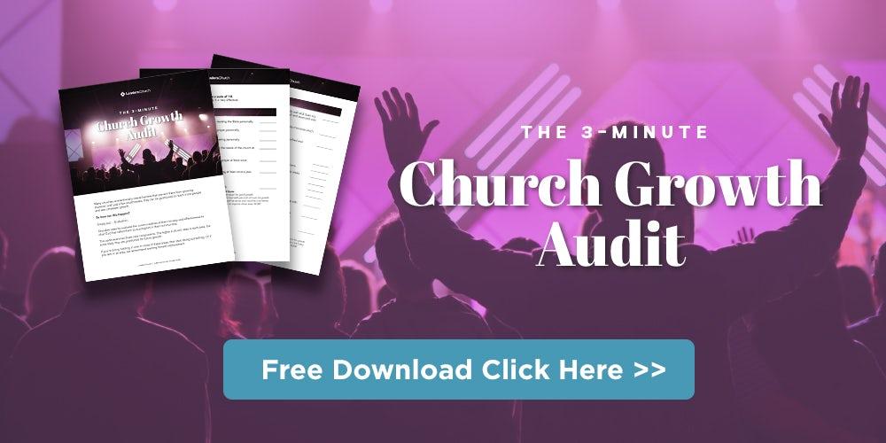 Take the Church Growth Audit for Pastors in Ministry