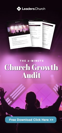Church Growth Audit for Pastors to Evaluate the Ministry