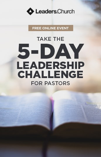 Take the 5-Day Leadership Challenge for Pastors and Church Leaders