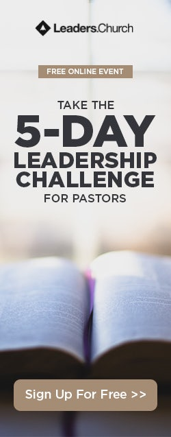 5-Day Leadership Challenge for Pastors