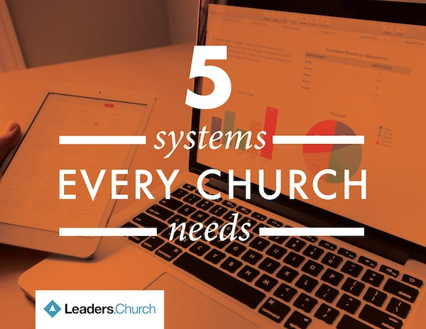 5 Systems Every Church Needs video series for pastors