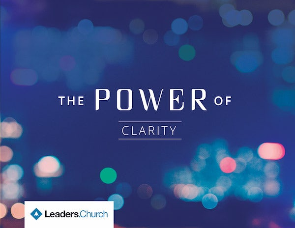The Power of Clarity video series for pastors
