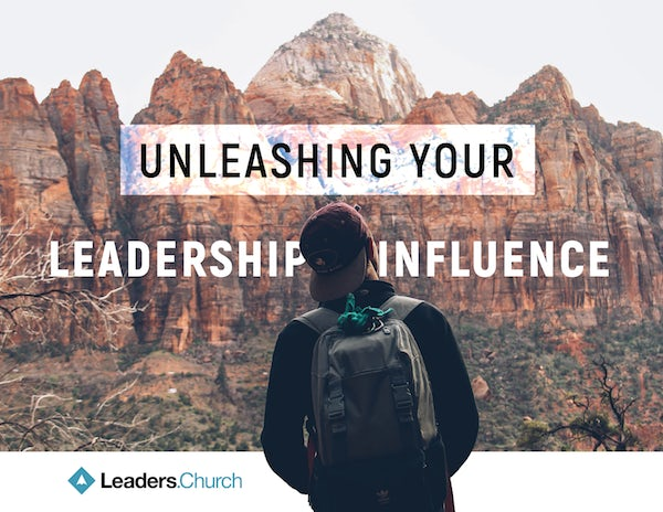 Unleashing your Leadership Influence video series for pastors