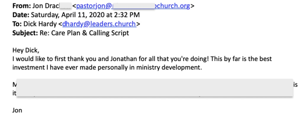 Review of Leaders.Church by Jon Drackett