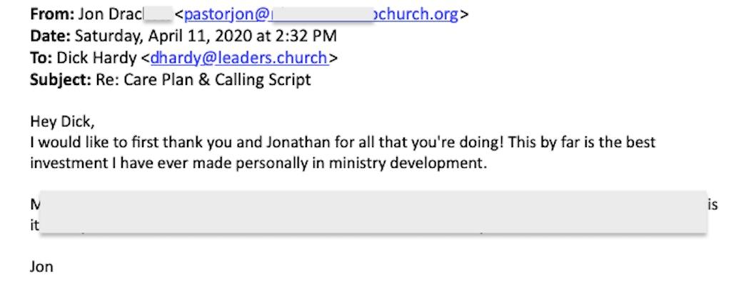 Review of Leaders.Church by Jon Drackett
