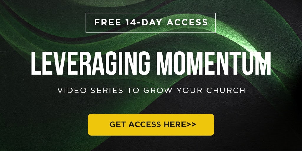 Helping Pastors Leverage and Build Momentum in the Church