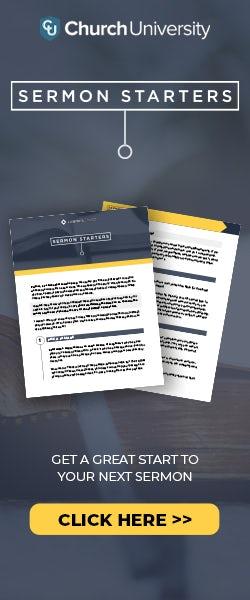 Sermon Starters PDF